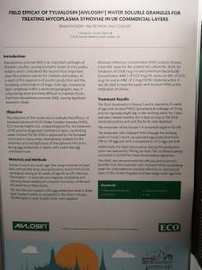 Aivlosin field study poster